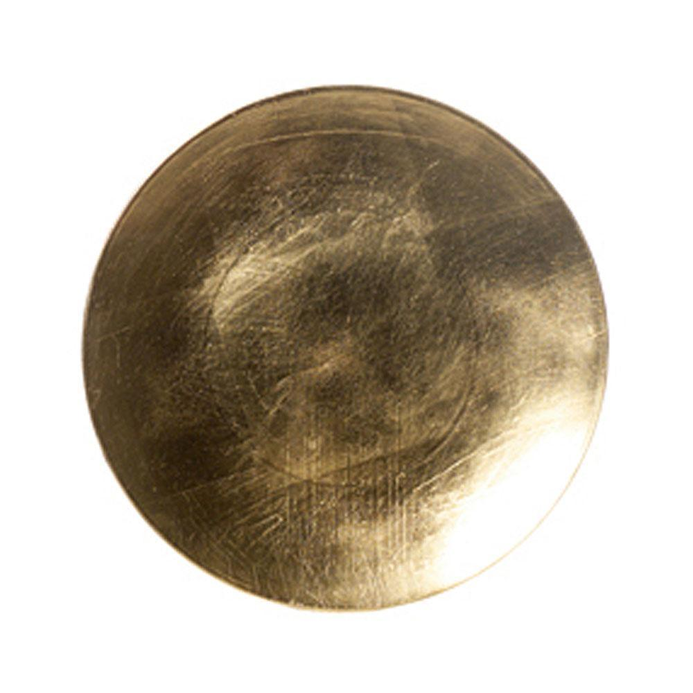 Round Gold Charger Plate - My Christmas
