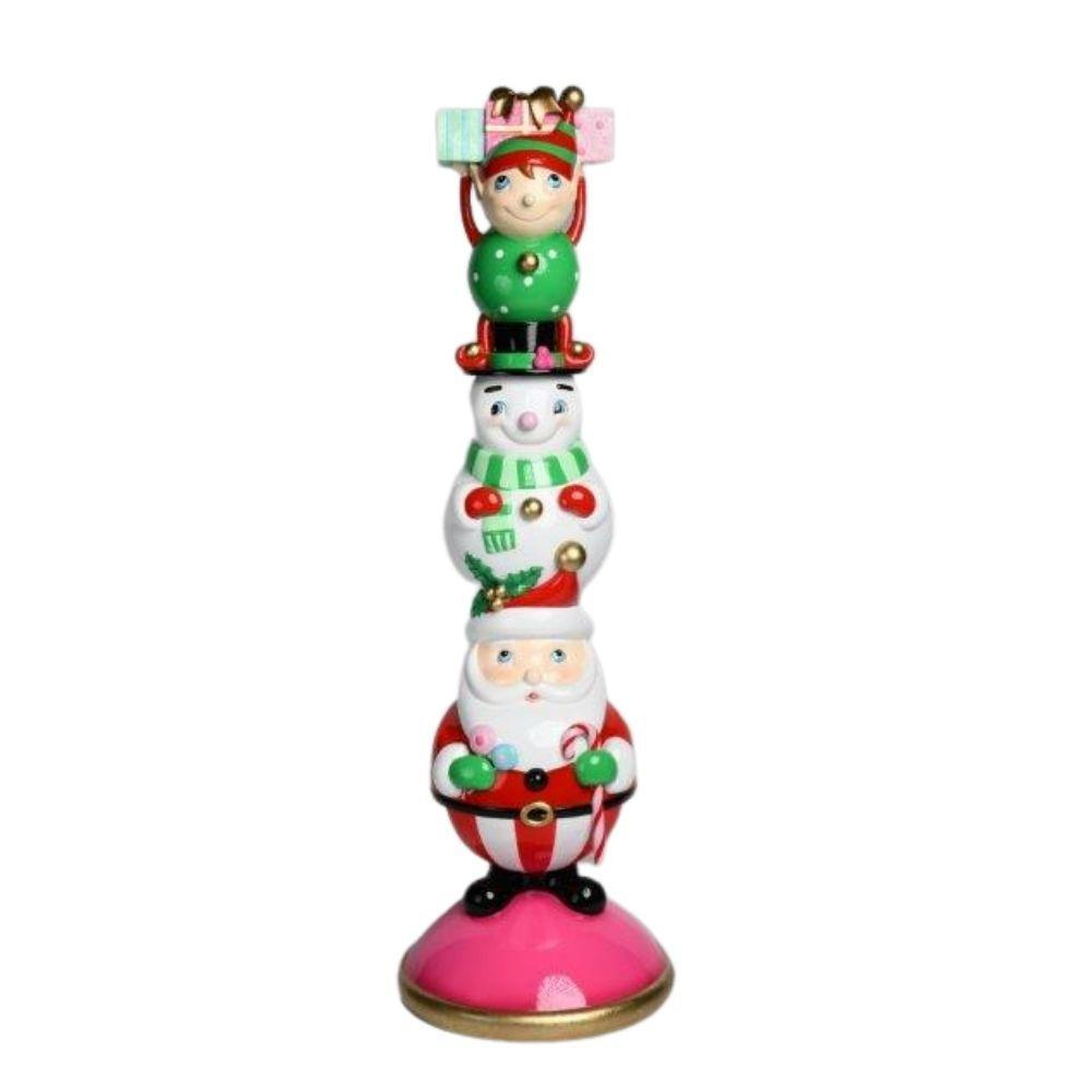 Santa Snowman Elf Stack - My Christmas