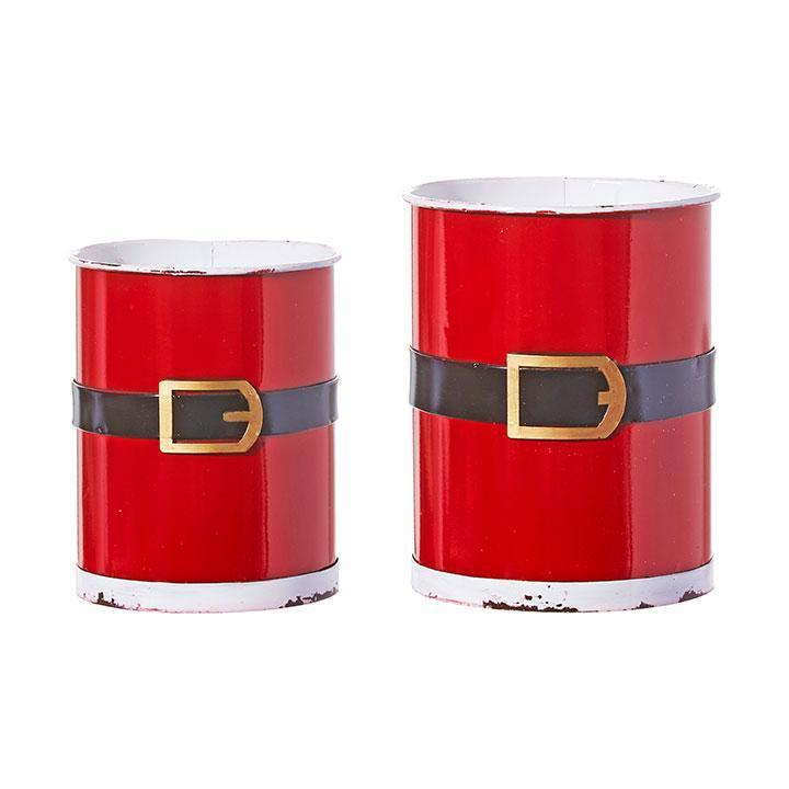 Set Of Santa Belt Container - My Christmas