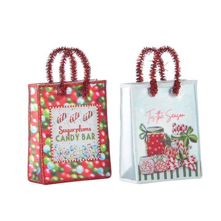 Shopping Bag Ornament - My Christmas