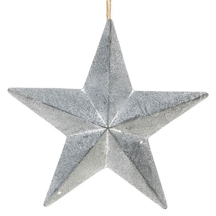 Silver Star Ornament - My Christmas