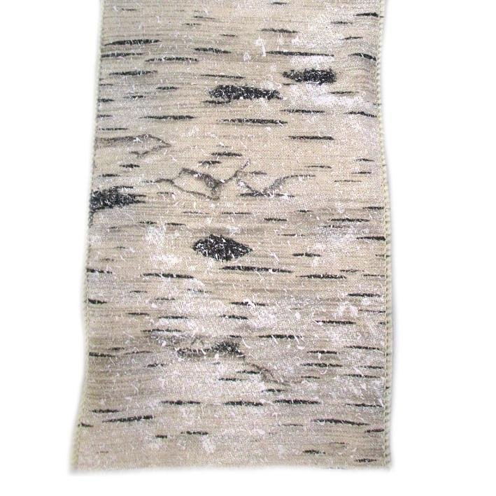 Snow Birch Tree Ribbon - My Christmas