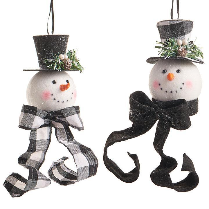 Snowman Head Ornament - My Christmas