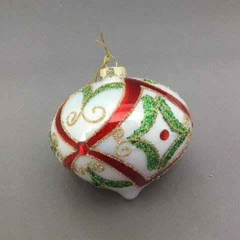 Traditional Onion Ornament - My Christmas