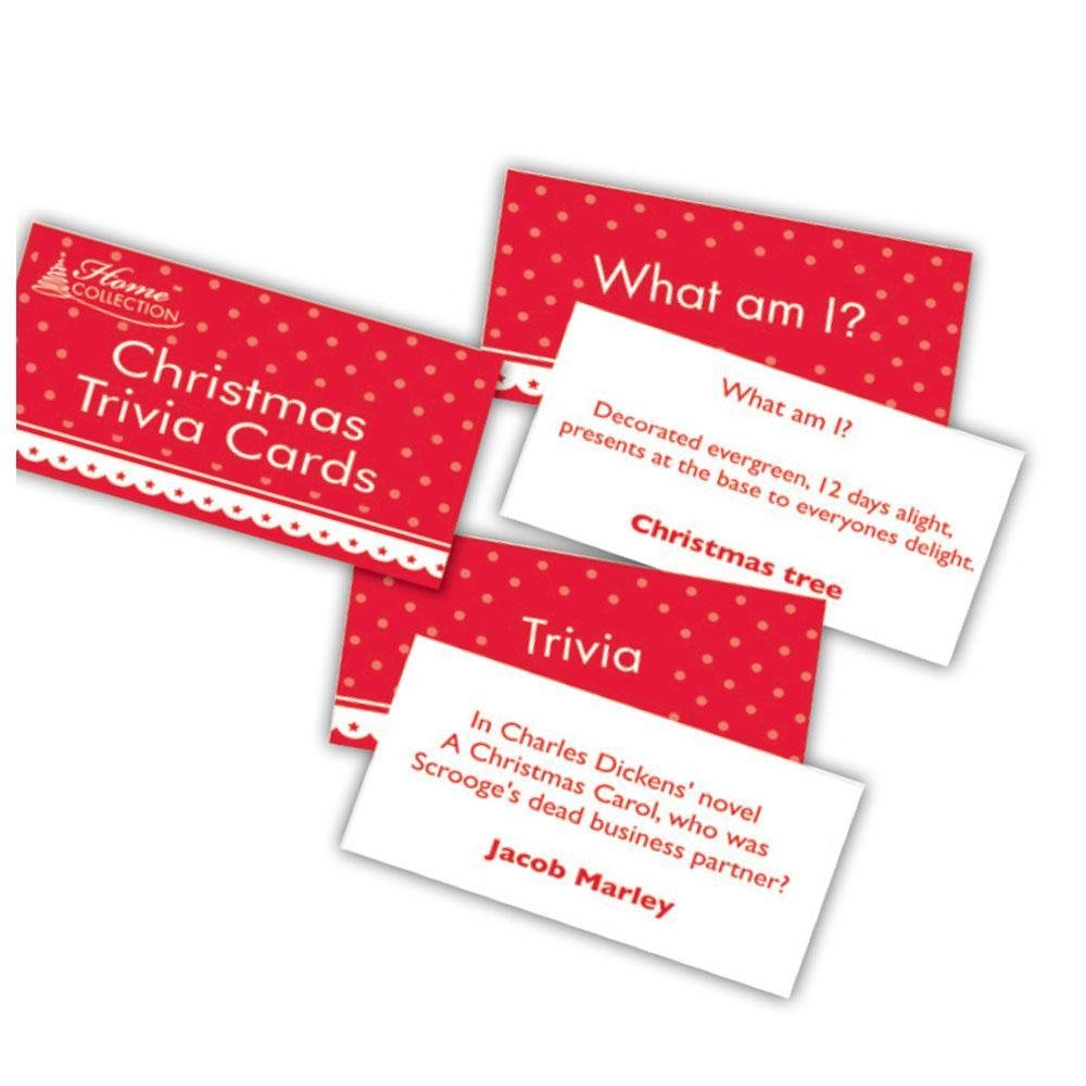 Trivia Christmas Cards - My Christmas