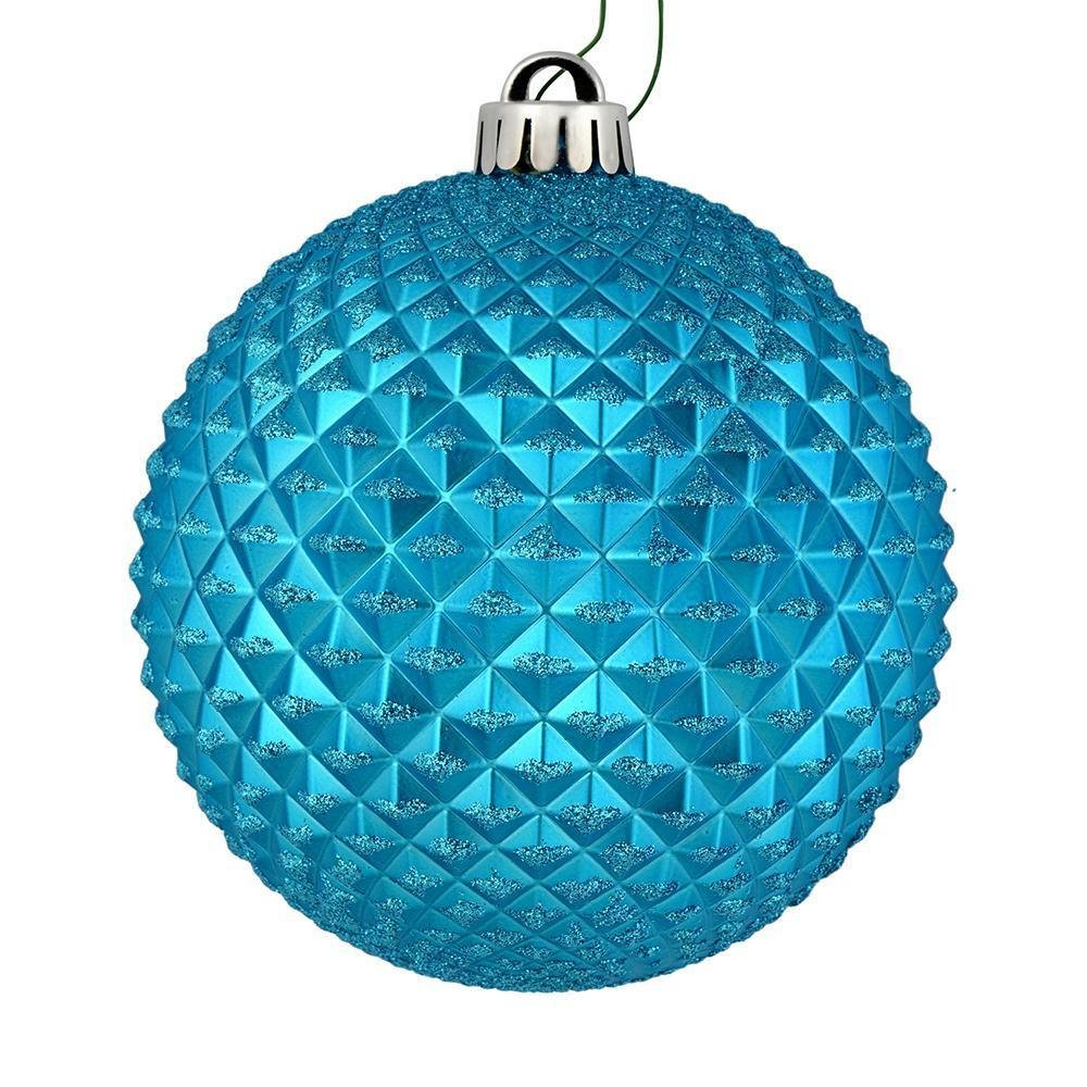 Turquoise Ball, 10cm - My Christmas