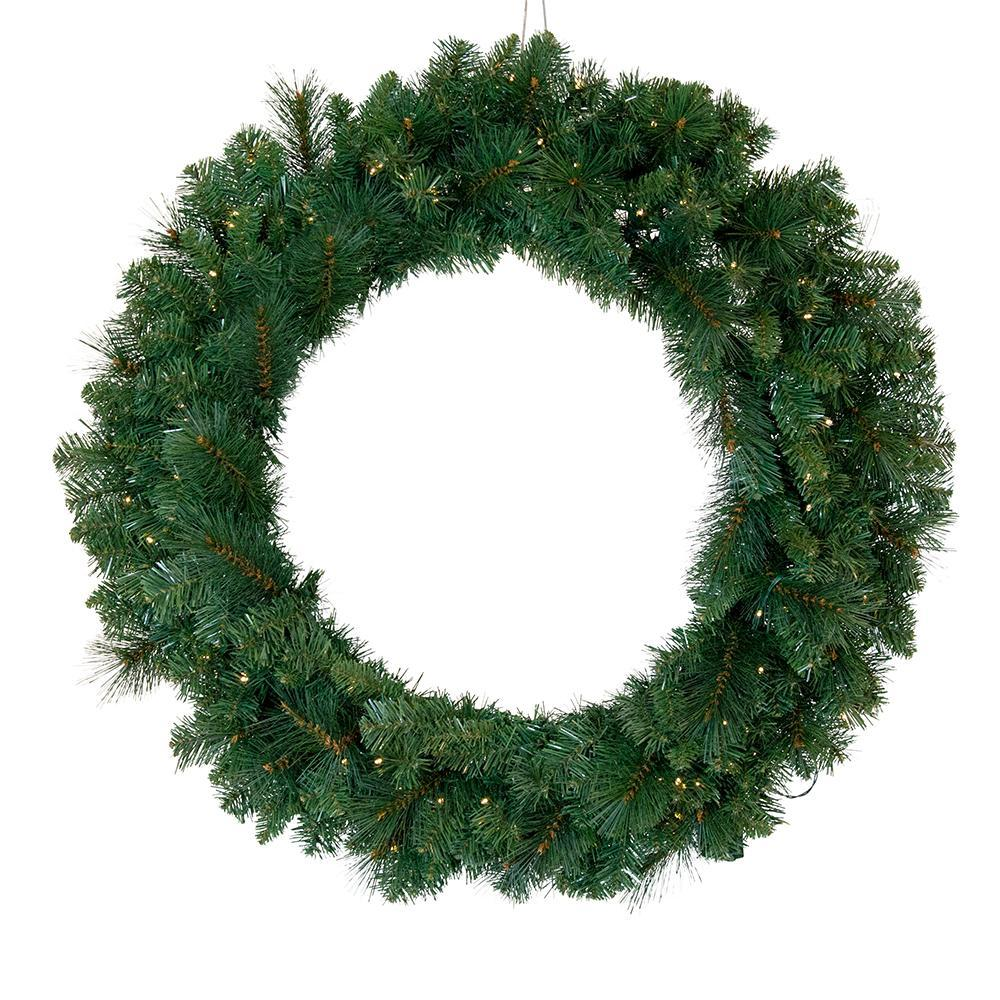 Vermont Pre Lit Wreath, Large - My Christmas