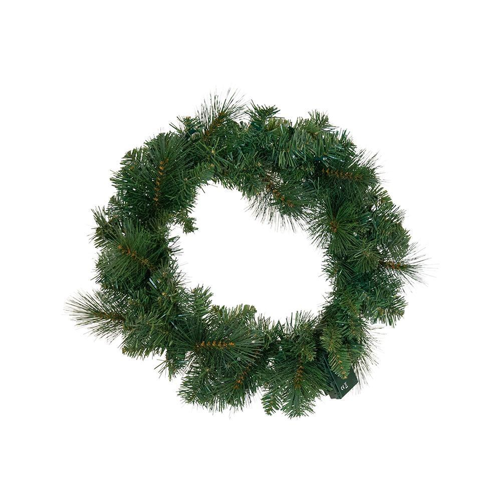 Vermont Pre Lit Wreath, Small - My Christmas