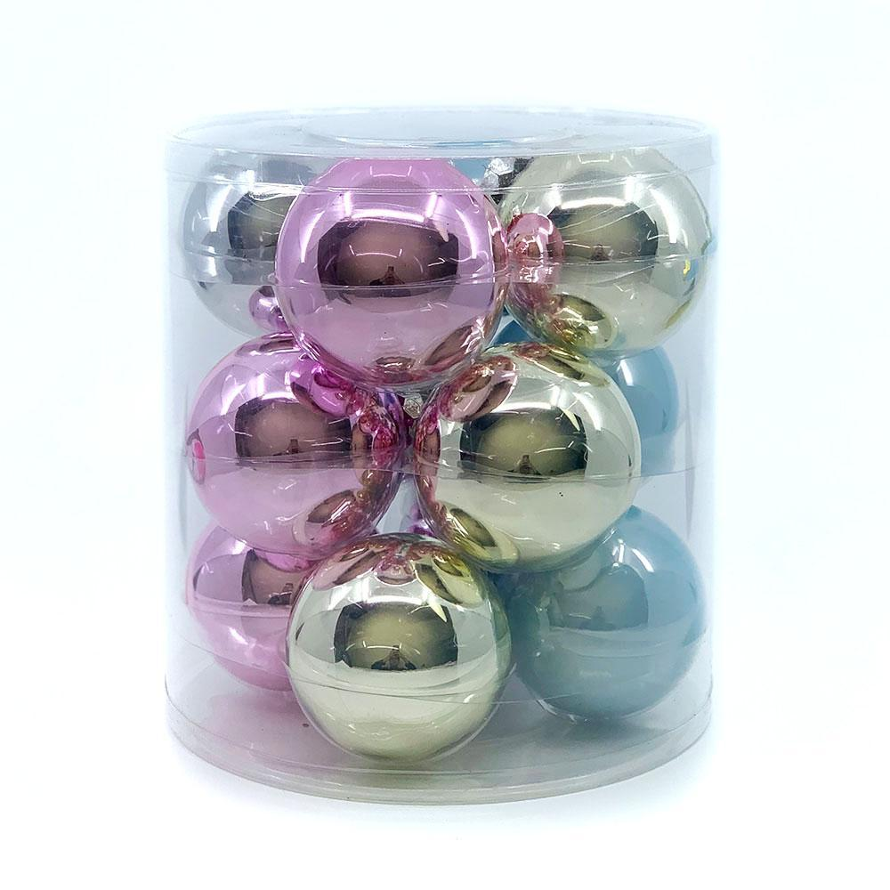 Vintage Glass Bauble Pack, Various Sizes - My Christmas