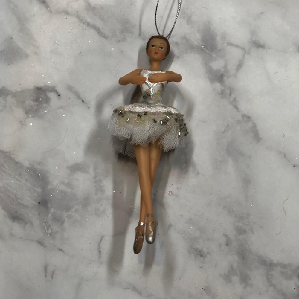 White Ballerina Ornament - My Christmas