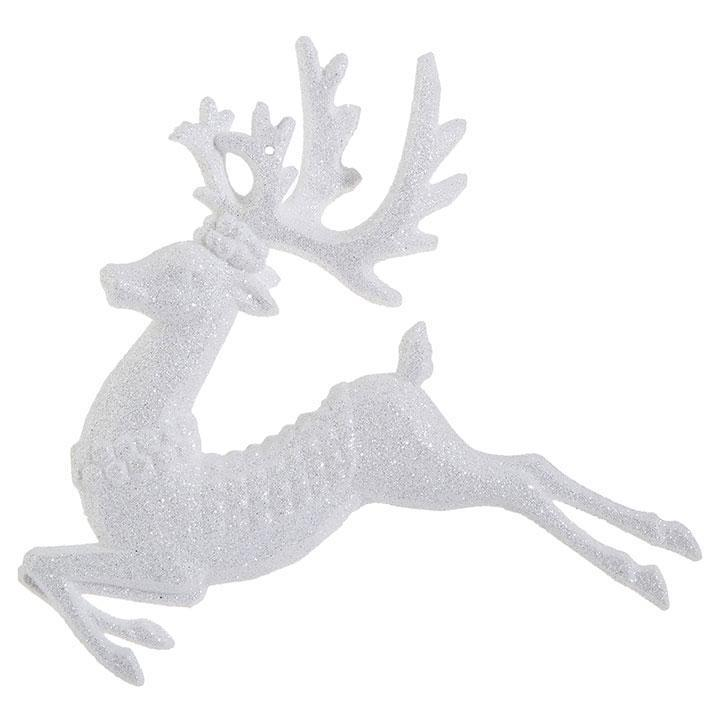 White Deer Ornament - My Christmas