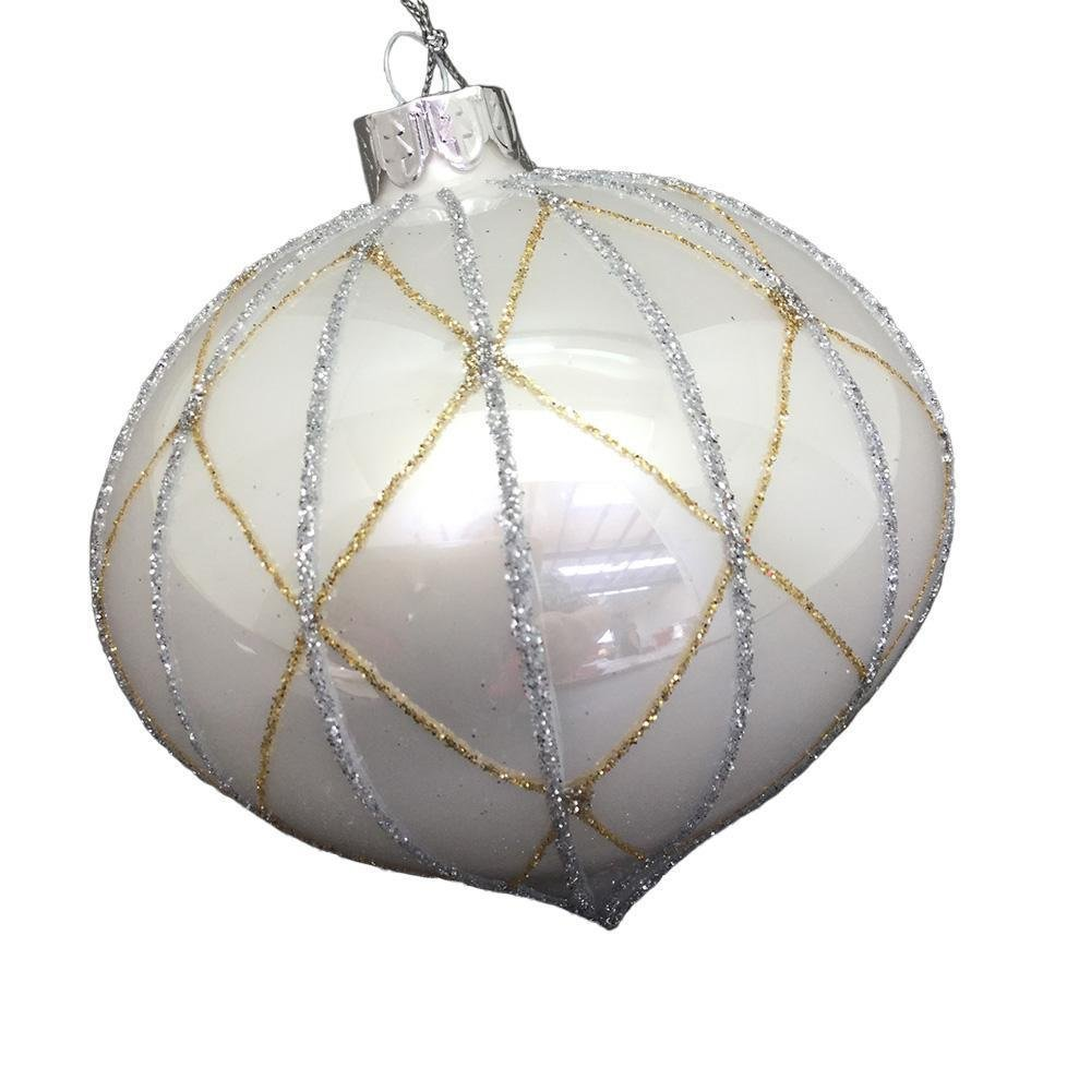 White Onion Bauble - My Christmas