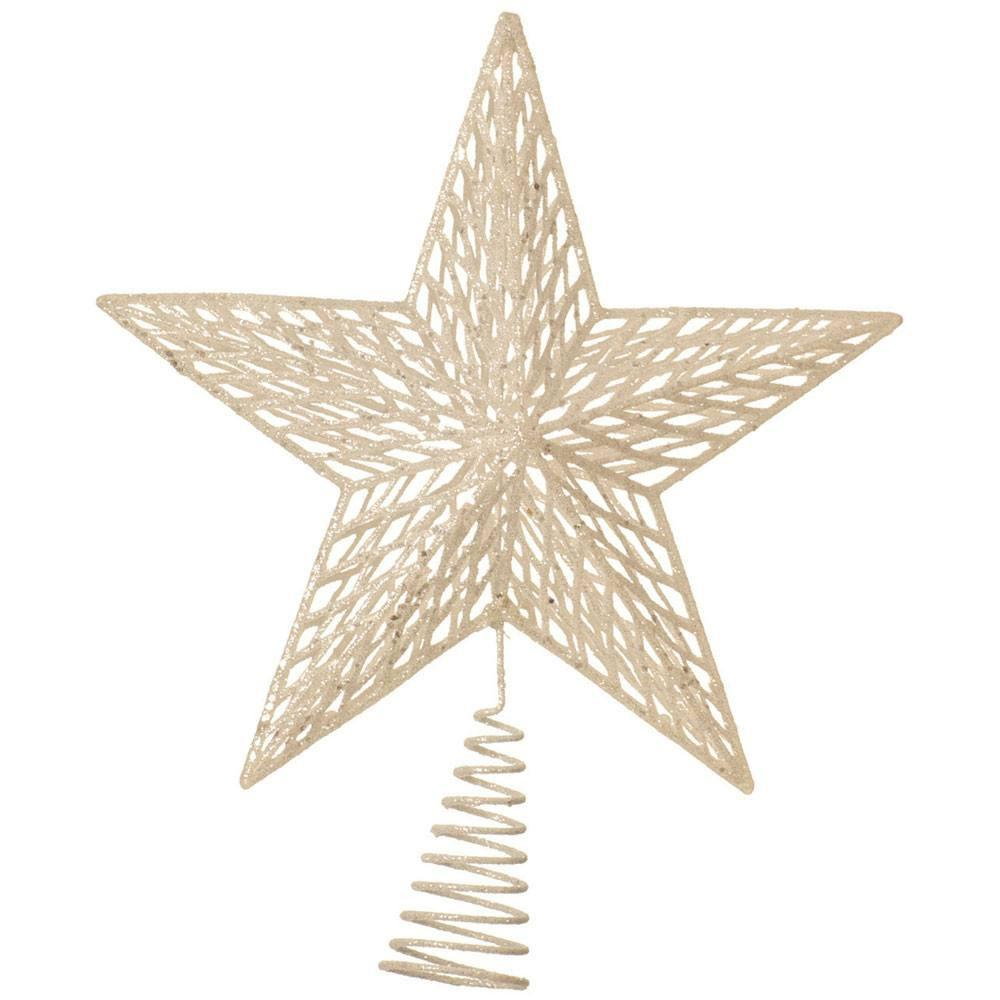 White Star Tree Topper - My Christmas