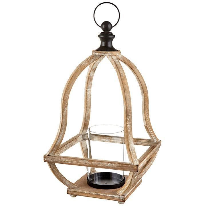 Wooden Lantern / Candle Holder - My Christmas