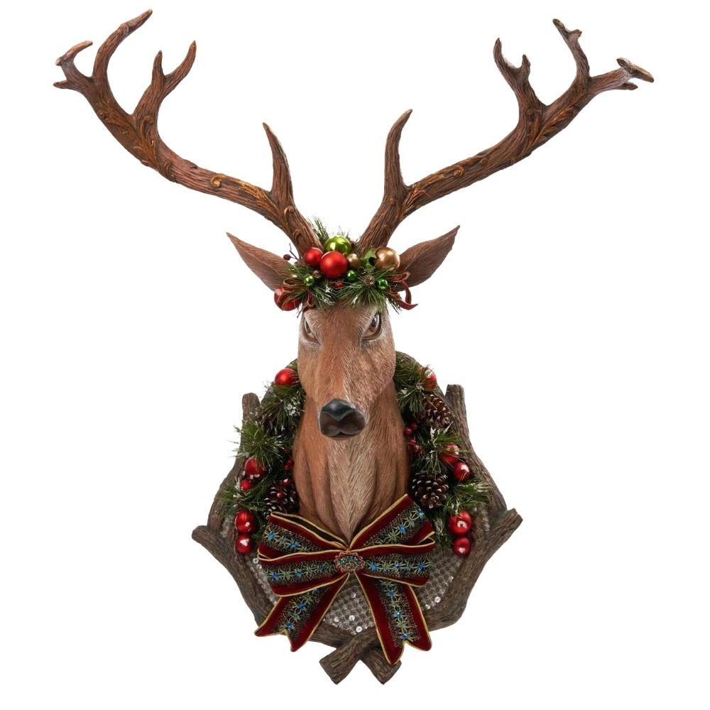 Woodland Reindeer Wall Piece, 90cm - My Christmas