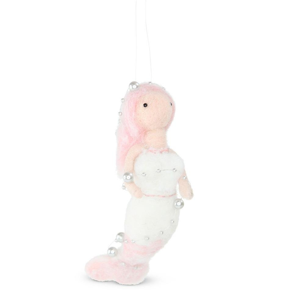 Wool Hanging Mermaid - My Christmas