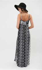 Double Split Aztec Maxi