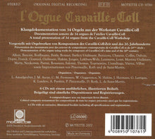 Laden Sie das Bild in den Galerie-Viewer, L'Orgue Cavaillé-Coll - Klangdokumentation von 34 Orgeln - 6 CDs