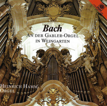Load image into Gallery viewer, 10951 BACH an der Gabler-Orgel in Weingarten