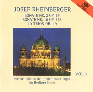 12211 Josef Rheinberger-  Vol. 1