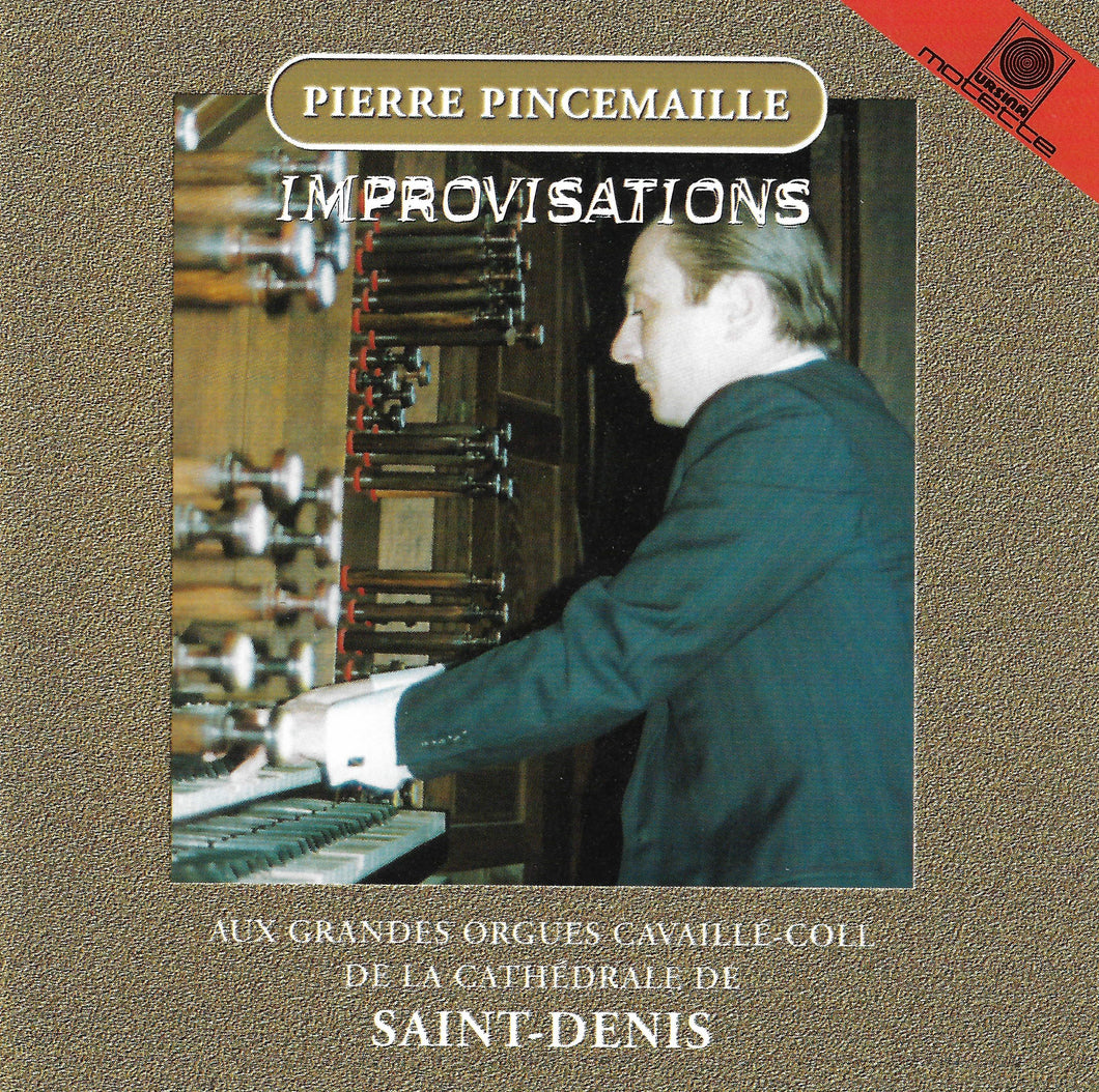12551 Pierre Pincemaille / IMPROVISATIONS