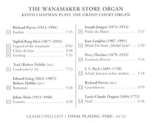 Load image into Gallery viewer, 60351 The Wanamaker Store Organ - The world's largest playing pipe organ