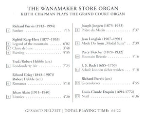 60351 The Wanamaker Store Organ - The world's largest playing pipe organ