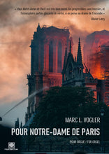 Laden Sie das Bild in den Galerie-Viewer, POUR NOTRE-DAME DE PARIS (Marc L. Vogler) - NOTEN KAUFEN