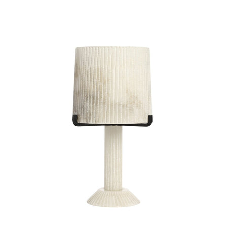 Acropolis Table Lamp White Alabaster