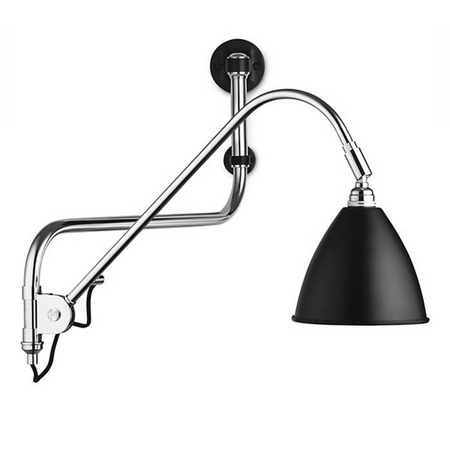 Bestlite Wall Lamp BL10 Black/Chrome
