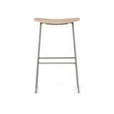 Morrison Counter Stool - White Stained Ash 1113 Wooden Seat