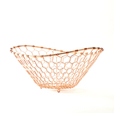 Waving Basket Copper