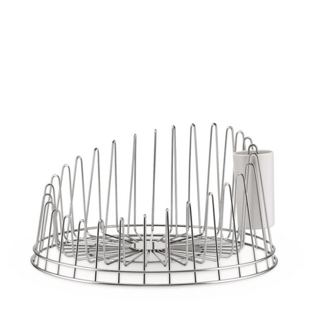 A Tempo Dish Drainer With Cutlery Drainer