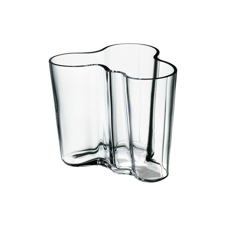 "Aalto Vase 3.75"" Clear"