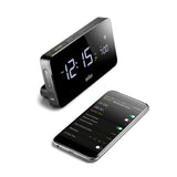 Braun Bluetooth Connected Clock in Black