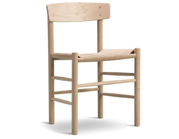 J39 Chair - Soaped Oak Frame Natural with Papercord Seat