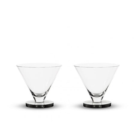 Puck Cocktail Glass Set of Two