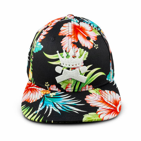 Crowned Heads Floral SnapBack