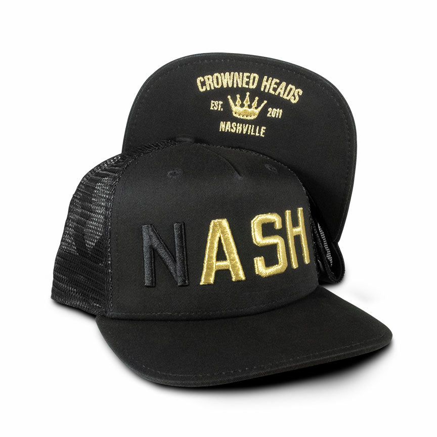 Crowned Heads NASH Trucker Hat (GOLD)