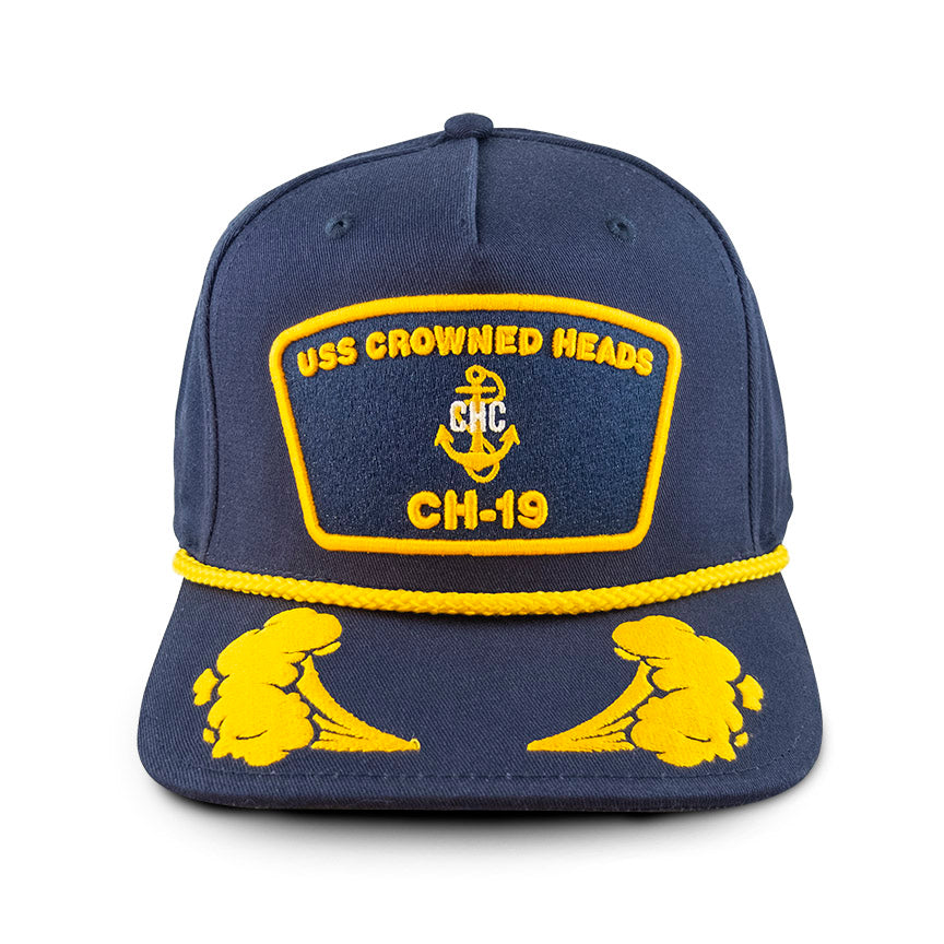 USS Crowned Heads SnapBack