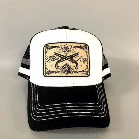 FOUR KICKS Trucker Cap