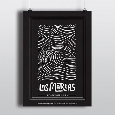 Las Mareas Screenprint