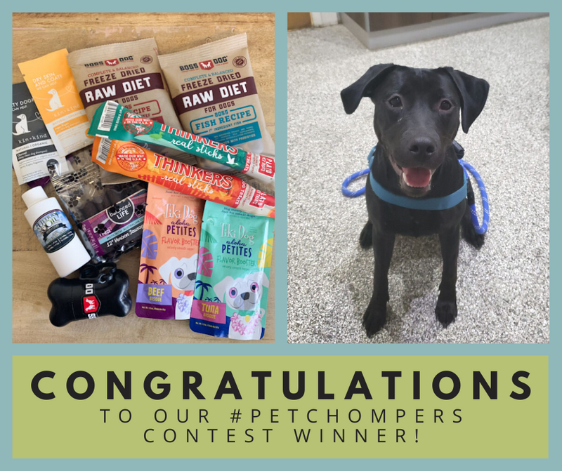 Congrats to Our #PetChompers Winner!