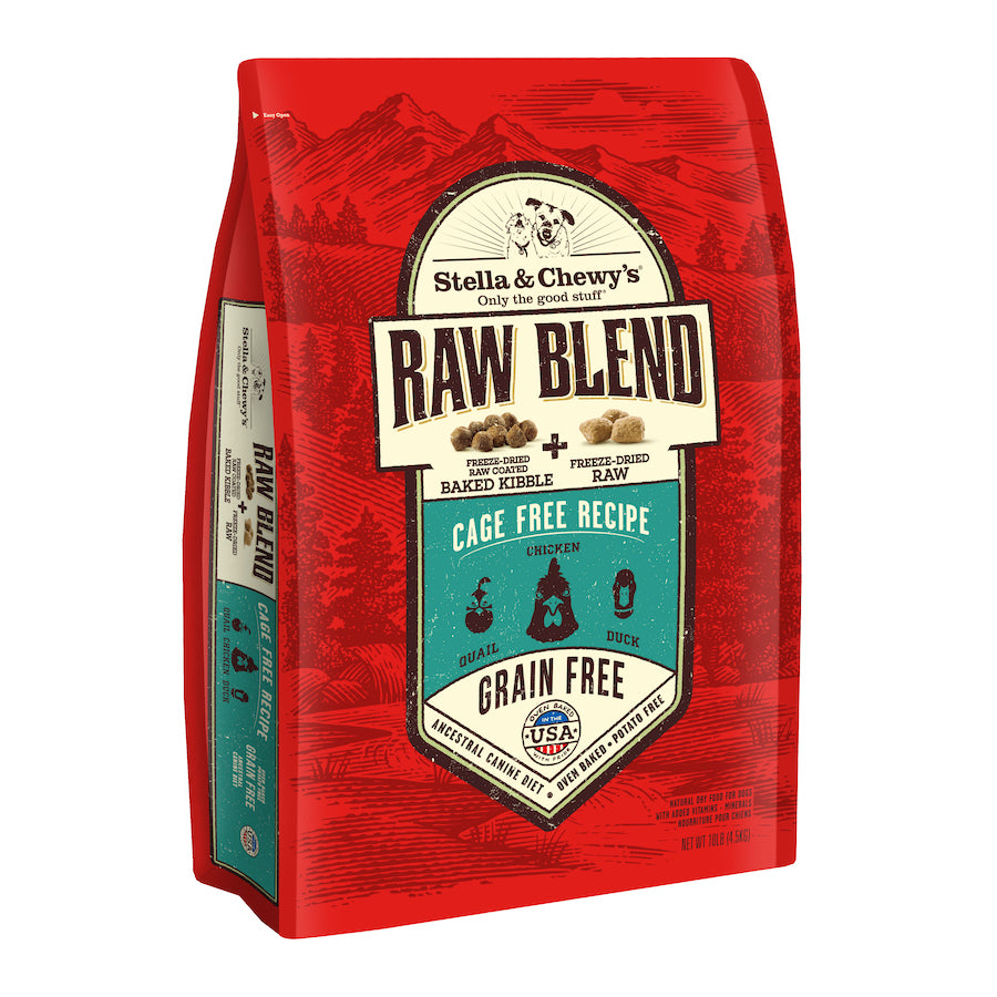 Stella & Chewy's Raw Blend Dog Kibble