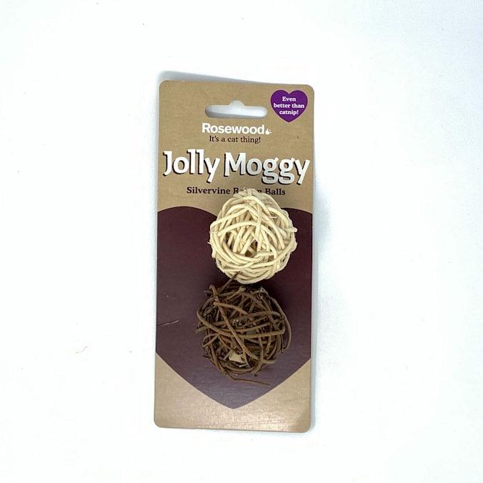 Jolly Moggy Silvervine Rattan Balls