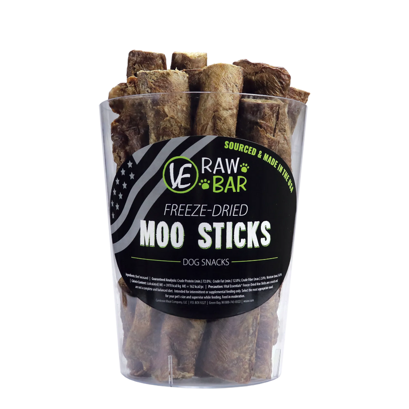 Vital Essentials Raw Bar Moo Sticks Freeze-Dried Snack