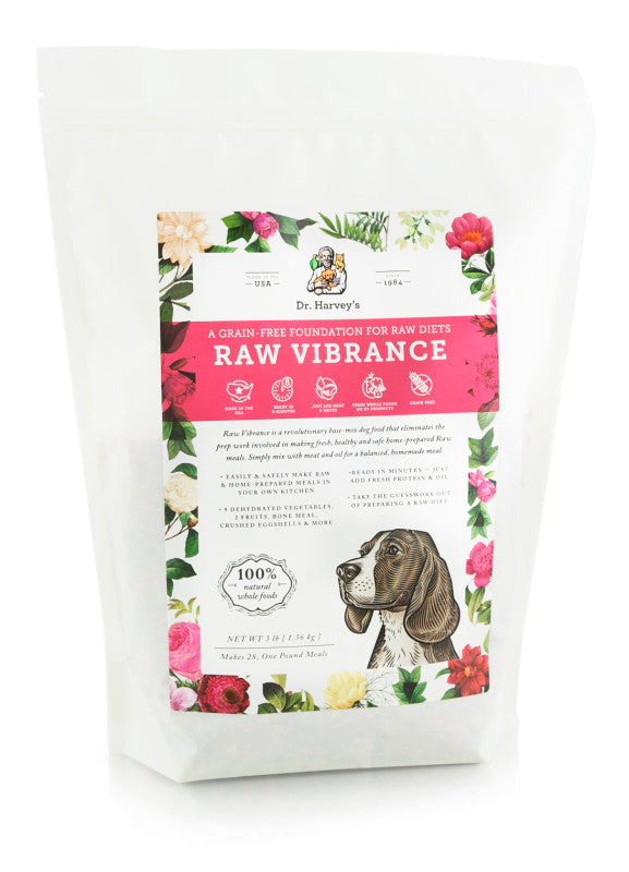 Dr. Harvey's Grain-Free Dog Food Pre-Mix - Raw Vibrance