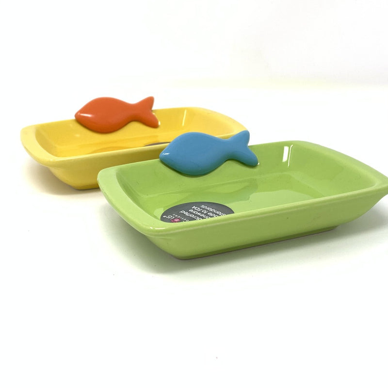 Petrageous Teeny Tiny Fish Cat Food Bowl