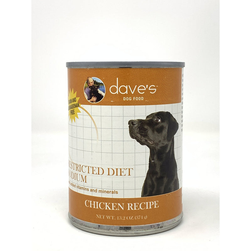 Dave's Pet Food Restricted Bland Diet Canned Dog Food Chicken