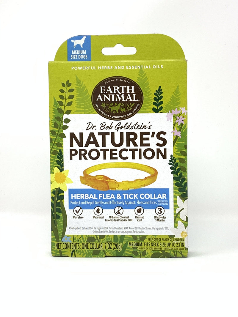 Earth Animal Nature's Protection™ Flea & Tick Herbal Collar for Dogs